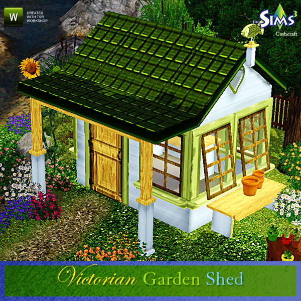 Cashcraft 39 S Victorian Garden Shed Decorative