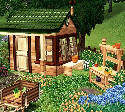 Victorian Backyard Sheds : cashcrafts Victorian Garden Shed