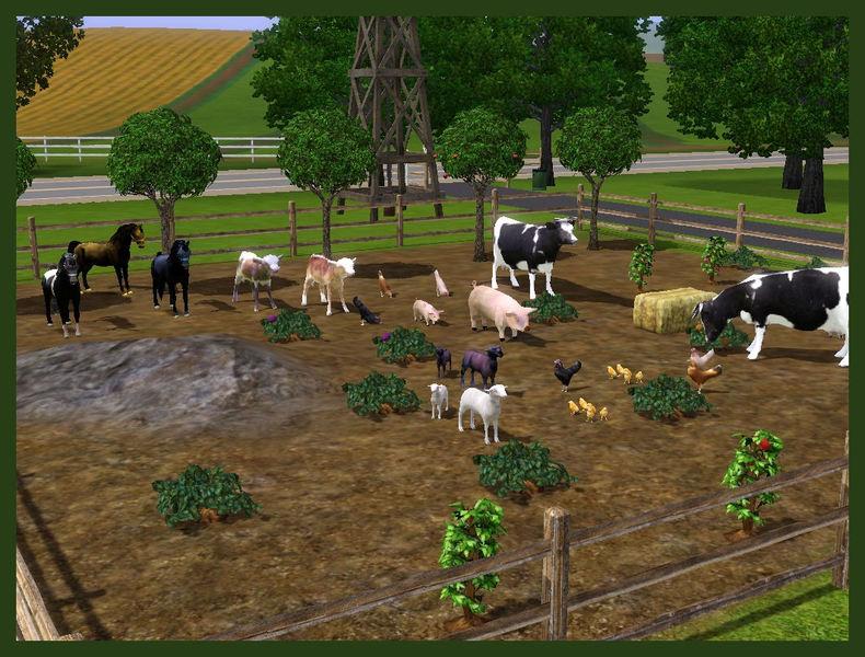 rebecah's Farm Animals