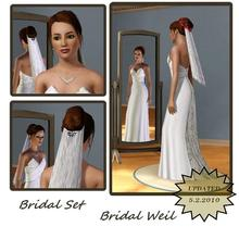 Bridal Set French Hair Formal