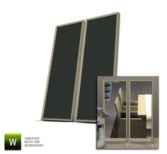 Sims 3 — Liams Corner Dining Mirrors by Angela — Liams Corner Dining Mirrors. Made by Angela@TSR (2010) Please don't