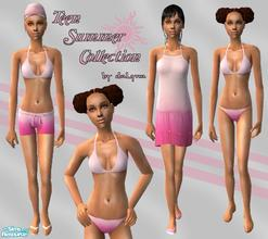 Sims 2 — Teen Summer Collection  by daLyna — Teen Summer Clothes Collection ..:: Enjoy! ::..