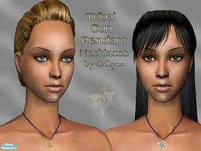 Sims 2 — Necklaces Collection No.2 by daLyna — Tribal Sun Pendants Necklaces ..:: Enjoy! ::..