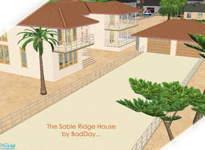 Sims 2 — The Sable Ridge House by BadDay — This is a wonderful family ranch on a large lot that'll suit your simmies