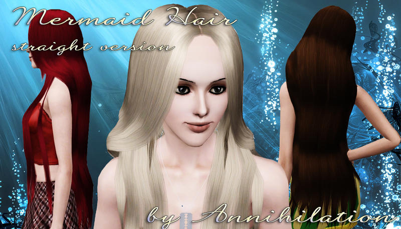Annihilation S Mermaid Hair Straight Version