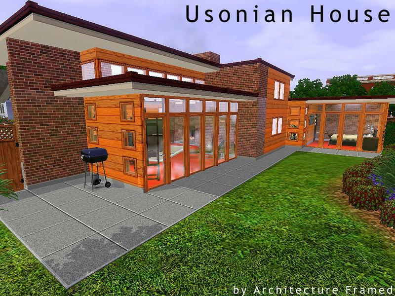 framedarchitecture s usonian house