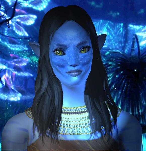 Sims 4 Avatar: Pdragon's Neytiri