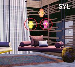 Sims 3 — SYL Zen Paradise Lantern (lower) by eryt96 — Hanging lantern. Polycount 800 (HP), 612 (LP). Use the cheat