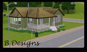 Sims 3 — B Designs 18 Cottage by littleb920 — B Designs 18 Cottage is perfect for a Sim who needs everything in one small