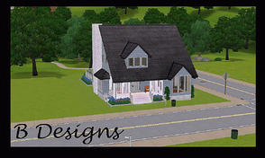 Sims 3 — B Designs 21 Cottage by littleb920 — B Designs 21 Cottage is the perfect house for a small family of three. The