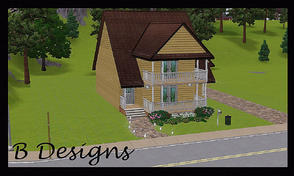 Sims 3 — B Designs 23 Big Space in Small House by littleb920 — B Designs 23 Big Space in Small House is bigger then it