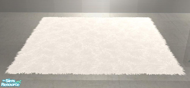 shinokcr 39 s crazy livingroom recolors fluffy rug large white