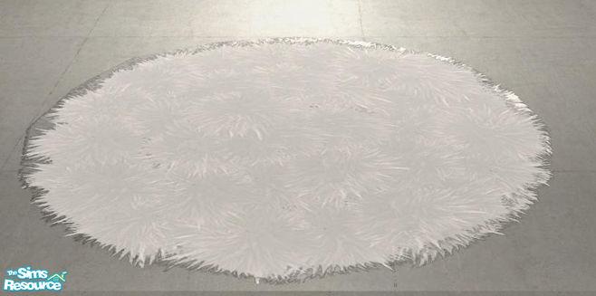 Shinokcr S Crazy Livingroom Recolors Fluffy Rug Round White