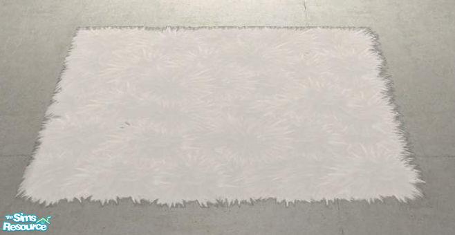 Shinokcr S Crazy Livingroom Recolors Fluffy Rug Small White