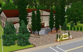 Sims 3 — The GoodLife Luxury Accomodations by Anakin_Stupaine — This lot features luxury apartments and suites,