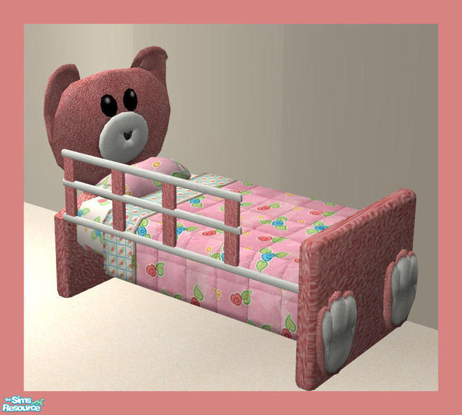 Rebecah Bearlybear Toddler Set Bed