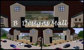 Sims 3 — B Designs 26 Mall by littleb920 — B Designs 26 Mall is the perfect recreational shopping area for you Sims. The