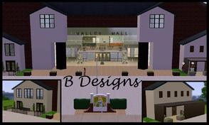 Sims 3 — B Designs 26 Mall  by littleb920 — B Designs Mall Free using the same layout almost all of the items you see in