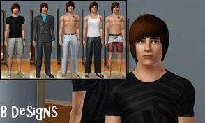 Sims 3 — Jaico Petras by littleb920 — Jaico just moved from Greece to Sunset Valley. He was a heart breaker in Greece,
