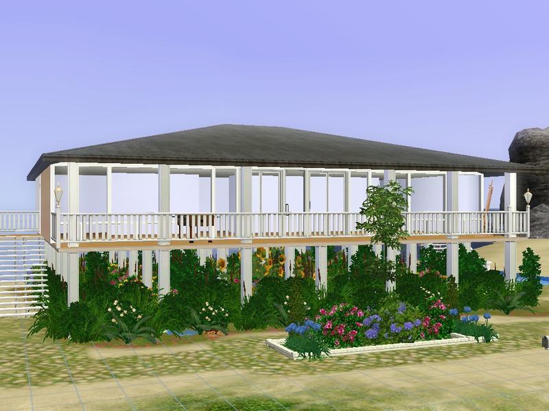 Hssbcf 39 s raised beach house for Beach house design features