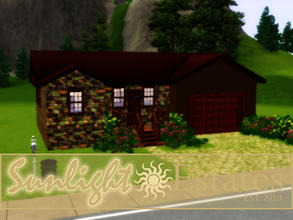 Sims 3 — Sunlight Estates 2 by sims_freak_2008 — 2 bed 1 1/2 bath