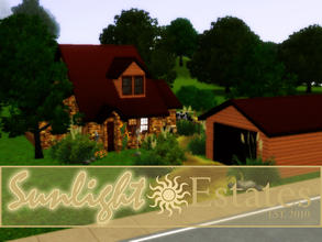 Sims 3 — Rancho de Earnesto by sims_freak_2008 — Perfect for a 6 person family. 3 bedrooms, 3 baths on a quaint farmland.