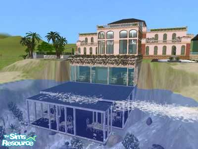 Dirk1026 39 s beachside house with underwater restaurant for Beach house 3 free download
