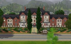 Sims 3 — The Sandringham Mansion by Anakin_Stupaine — Costs more than 1,000,000 furnished! Based on the Sandringham