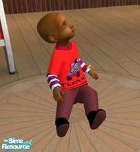 Sims 2 — Thomas Outfit no.1 by melaniecox — This little outfit was inspired by an outfit that one of my childminding