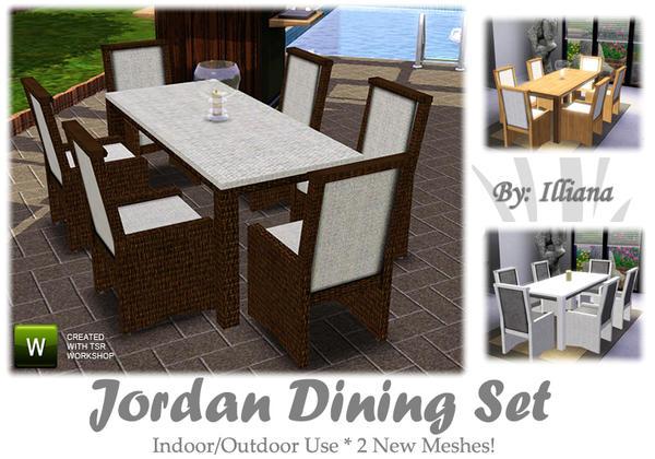 illiana s jordan dining set
