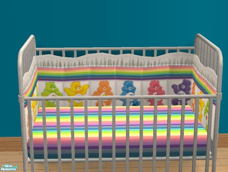 Care Bear Nursery Crib