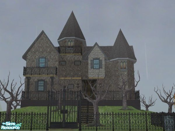 """Mod The Sims - """" Haunted Medieval Castle """" - Huge and detailled ..."""