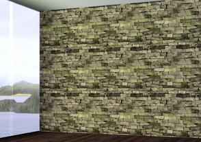 Sims 3 — Aged Stone by BrooksHalten — Perfect for a desert setting! My first multiple channel pattern, and I credit my