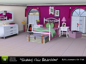 Sims 3 — Chabby Chic Bedroom by TheNumbersWoman —