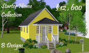 Sims 3 — B Designs Starter Home Collection #2 by littleb920 — B Designs Starter Home Collection #2 is the second of the