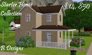 Sims 3 — B Designs Starter Home Collection by littleb920 — B Designs 29 Starter Home is the perfect home for your Sim.