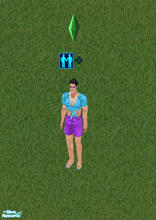 Sims 1 — The Evil Wevil-Kan-Nevil Skin! by MasterCrimson_19 — This is the skin of the infamous cross-dressing nemesis of
