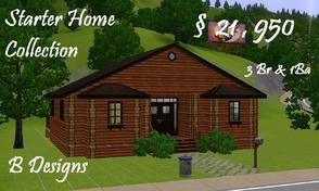 Sims 3 — B Designs Starter Home Collection #5 by littleb920 —  B Designs Starter Home Collection #5 is the fifth of the