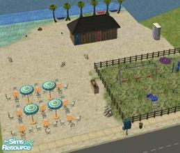 Sims 2 — Valentino beach by melaniecox — A nice day out at the beach for your sim families.