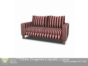Sims 3 — Ikea Inspired Expidet Living Sofa by TheNumbersWoman — Inspired by Ikea, made for you By RicciNumbers at TSR.