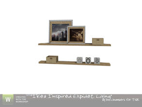 Sims 3 — Ikea Expidet Living Shelf by TheNumbersWoman — The shelf of shelves for the livingroom. By RicciNumbers at TSR.