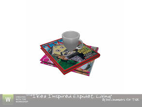 Sims 3 — Ikea Expidet Living Mug and Cups by TheNumbersWoman — Deco...is there really ever enough? I think Not! By