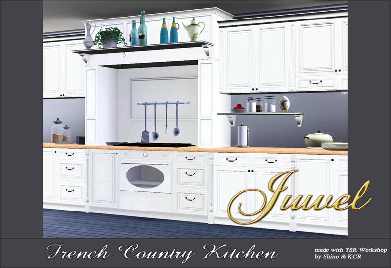 Shinokcr 39 s kitchen juwel for Sims 3 kitchen ideas