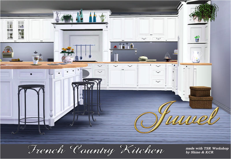 Image gallery sims 3 kitchen for Sims 3 kitchen designs