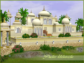 Sims 3 — Palace Udaivilas by senemm — A fabulous royal palace inspired by the indian-arabian style residences. To build