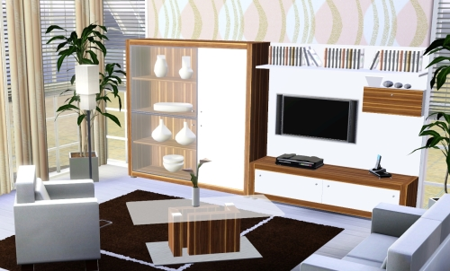 tsr - merlana - - Sims 3 Wohnzimmer Modern