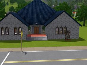 Sims 3 — Toreador  Dance house by Lady_Dane — i have tried too build a dance hall for my simmer,or as the name says my