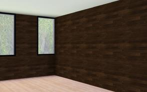 Sims 3 — Modern Wood Planks- Horizontal by BrooksHalten — beautiful wood with deep tones! Perfect for creating rich