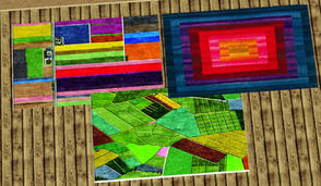 Sims 3 — COLOR FUN RUGS 5X3 by abuk0 — COLOR FUN RUGS 5X3