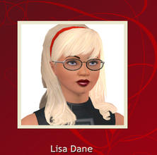 Sims 3 — Liza Dane by Lady_Dane — the sim i play with in my screenshots.She is mother off my household in the family